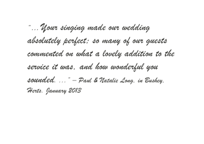 2013 0126 Long wedding